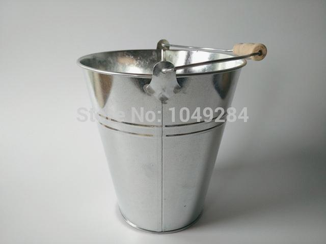 Contemporary Large Metal Bucket