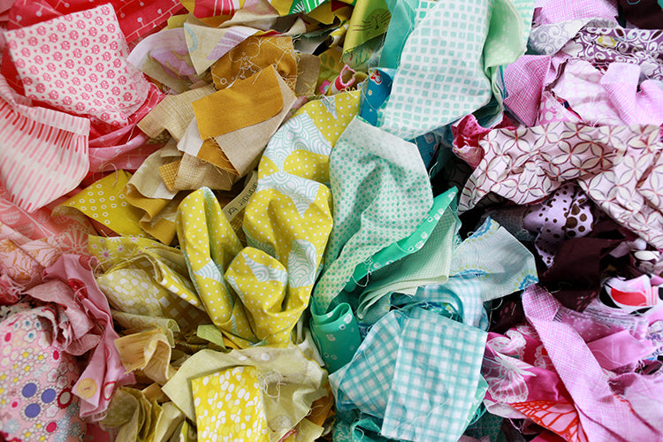 Tips for Organizing and Storing Fabric Scraps