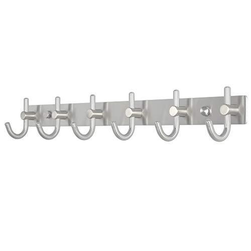 Exclusive caligrafx coat hooks heavy duty single hat kitchen bath towel hook robe closet clothes hanger rail garment rack holder home wall mounted