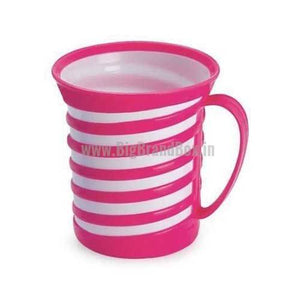 Tea Coffee Plastic Mug - Spiral 6 pcs