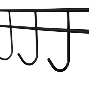 Get modrine double rod garment rack 3 tiers heavy duty hanging closet with lockable rolling wheels 2 side hooks and 2 clothes rods black