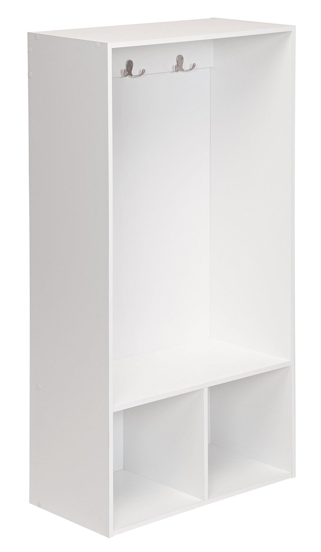 Products closetmaid 1598 kidspace open storage locker 47 inch height white