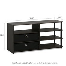 Load image into Gallery viewer, Furinno TV Stand 15078WNBK