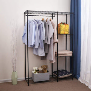 Best seller  songmics extra large shelving garment rack heavy duty portable clothes wardrobe free standing closet storage organizer ulgr12p