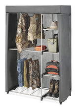 Load image into Gallery viewer, Select nice whitmor deluxe utility closet 5 extra strong shelves removable cover