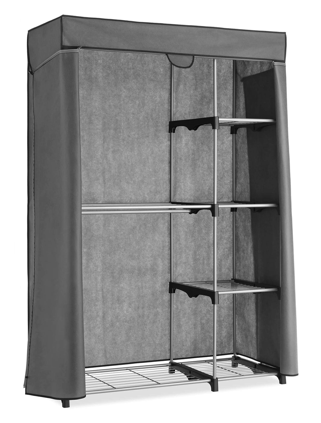 Related whitmor deluxe utility closet 5 extra strong shelves removable cover