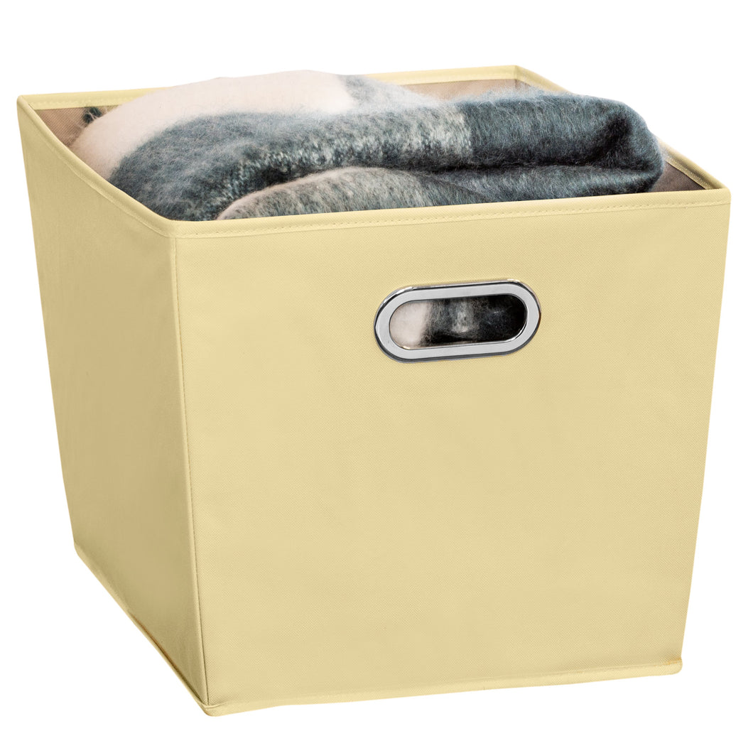 Large Storage Bin with Handles, Yellow