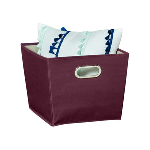 Medium Storage Bin, Purple
