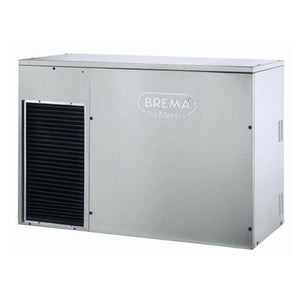 Brema 13g Cube Ice Maker 300kg Production Bin Storage C300A