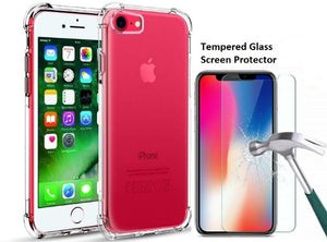 iPhone 8 Clear Case Shockproof Hard Cover