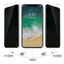 Load image into Gallery viewer, iPhone XR Privacy Screen Protector tempered Glass