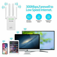 Load image into Gallery viewer, WIFI Extender Booster Repeater Wireless Amplifier Router Signal