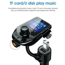 Load image into Gallery viewer, FM Transmitter Bluetooth FM Transmitter Bluetooth car Transmitter