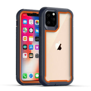 iPhone 11 Pro Max Heavy Duty Shockproof Hybrid TPU Armor Case Orange