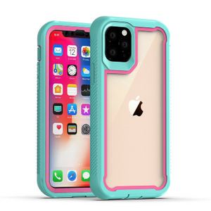 iPhone 11 Pro Max Heavy Duty Shockproof Hybrid TPU Armor Case Blue