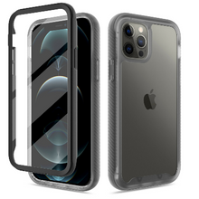 Load image into Gallery viewer, iPhone 12 Pro Max Clear Case With Built-in Screen Protector Clear
