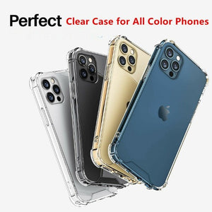 Apple iPhone 12 Clear Case Shockproof Hard Cover