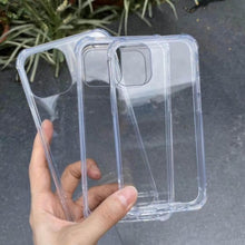 Load image into Gallery viewer, iPhone 12 (6.1') 5G Shockproof Clear Case Cover Screen Protector