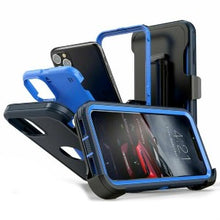 Load image into Gallery viewer, iPhone 12 Pro Max Heavy Duty Defender Shockproof Belt Clip Holster Series Case