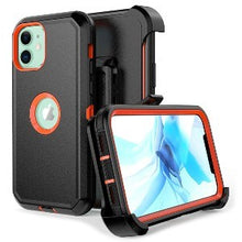 Load image into Gallery viewer, iPhone 12 Pro Max Heavy Duty Defender Shockproof Belt Clip Holster Series Case Orange