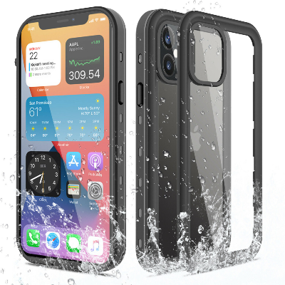 iPhone 12 Pro Waterproof Shockproof Case W/ Built-in Screen Protector
