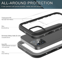 Load image into Gallery viewer, iPhone 12 Mini Waterproof Shockproof Case W/ Built-in Screen Protector
