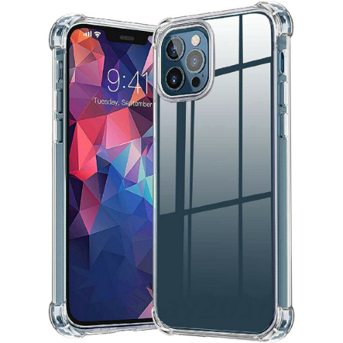 iPhone 12 Pro Clear Case Shockproof Hard Cover