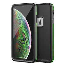 Load image into Gallery viewer, iPhone Xs Max Waterproof Case Black
