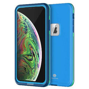 iPhone Xs Max Waterproof Case Blue