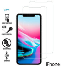 "Load image into Gallery viewer, iPhone 12 (6.1"") Tempered Glass Screen Protector 3-Pack"