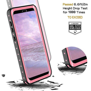 Samsung galaxy S9 / S9 Plus Waterproof Case Shockproof Built-in Screen protector