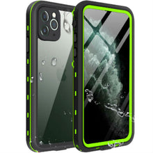 Load image into Gallery viewer, iPhone 11 Waterproof Case green