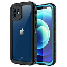 Load image into Gallery viewer, iPhone 12 Pro Max Waterproof Case Shockproof With Built-in Screen Protector Teal