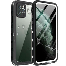 Load image into Gallery viewer, iPhone 11 Waterproof Case white