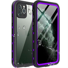 Load image into Gallery viewer, iPhone 11 Waterproof Case purple