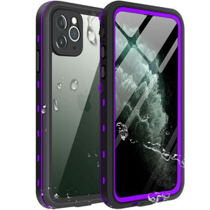 iPhone 11 Waterproof Case purple