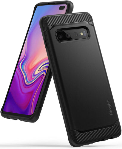 Samsung Galaxy S10 / S10 Plus, S10e Onyx Black TPU Shockproof Cover Case