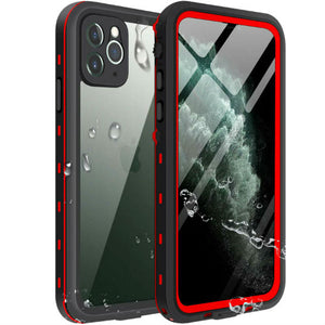 iPhone 11 Pro Waterproof Case Red