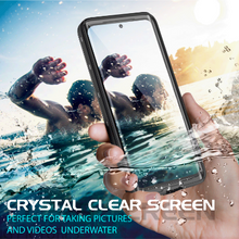 Load image into Gallery viewer, Samsung Galaxy S20 Waterproof case W/ Built-in Screen Protector Kicksatnd