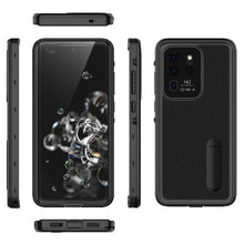 Load image into Gallery viewer, Samsung Galaxy S20 Ultra 5G Waterproof case W/ Built-in Screen Protector Kicksatnd