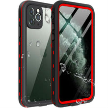 Load image into Gallery viewer, iPhone 11 Waterproof Case red