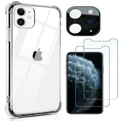 iPhone 11 Pro Shockproof Hard Clear Case