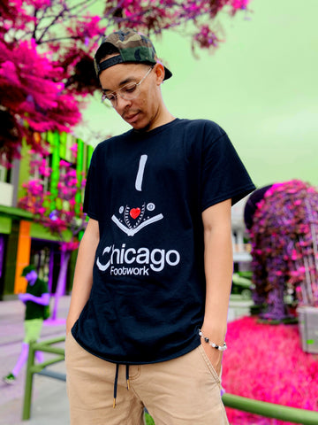 I Love Chicago Footwork Redux T