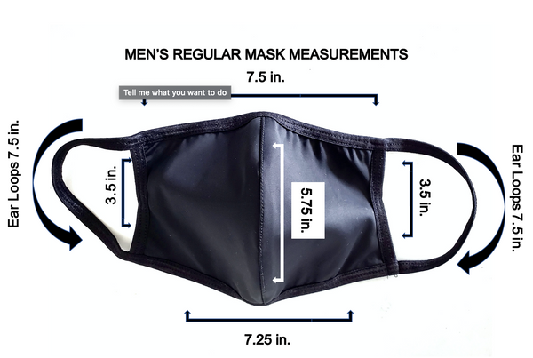 Men's Luxury Spandex Face Mask with Filter Pocket