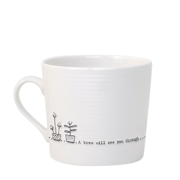 East of India 'A Brew Will See You Through' Mug