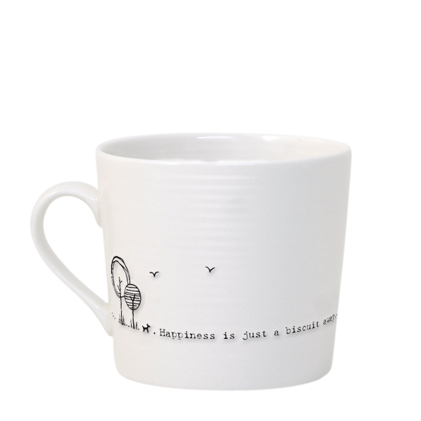 East of India Happiness is Just a Biscuit Away Mug