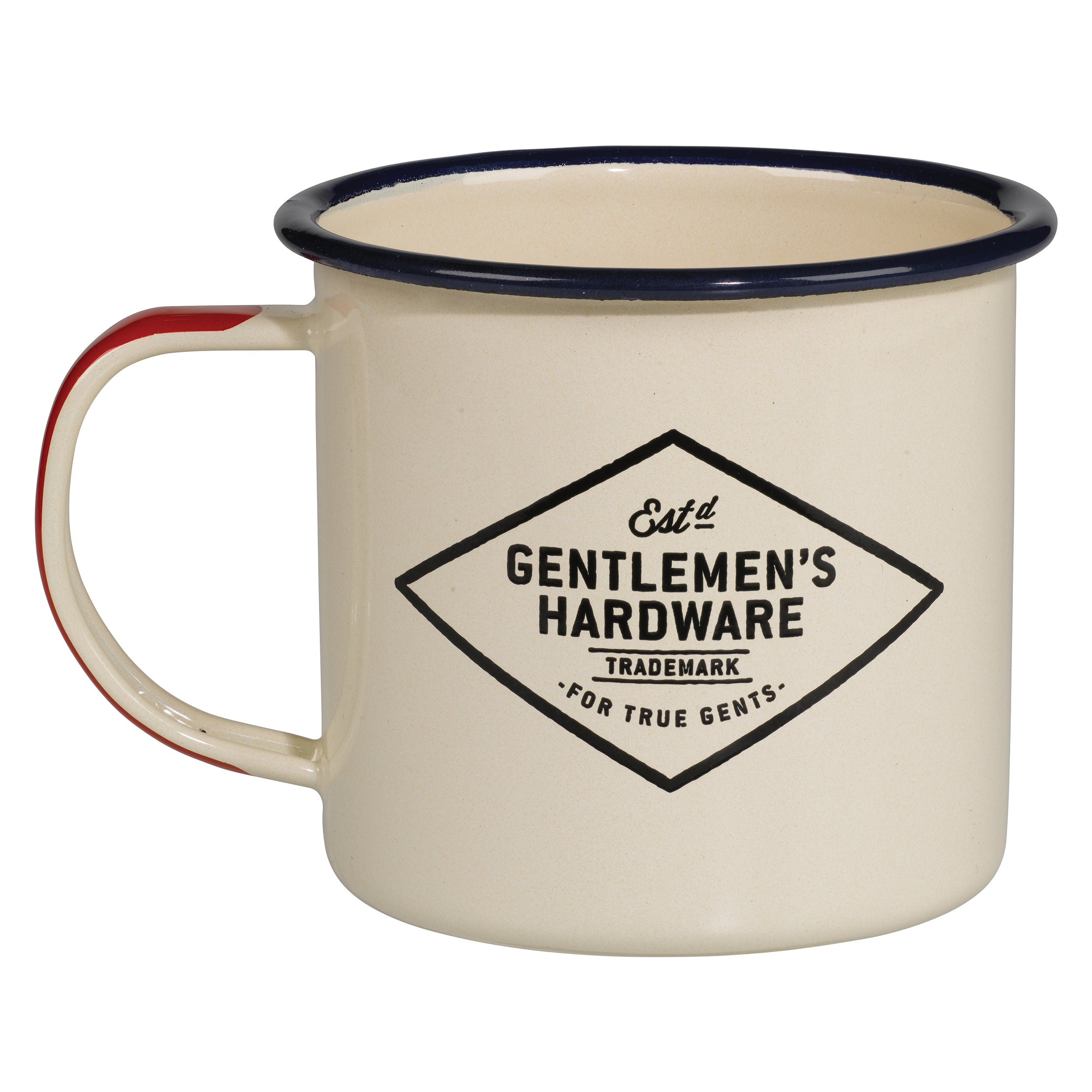 Gentlemens Hardware Enamel Mug, The Adventure Begins