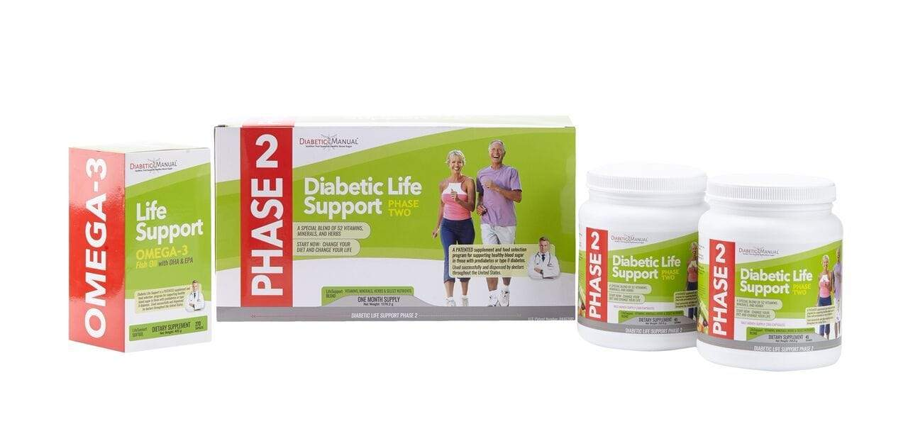 BodyManual Diabetic Life Support - PHASE 2 REFILL