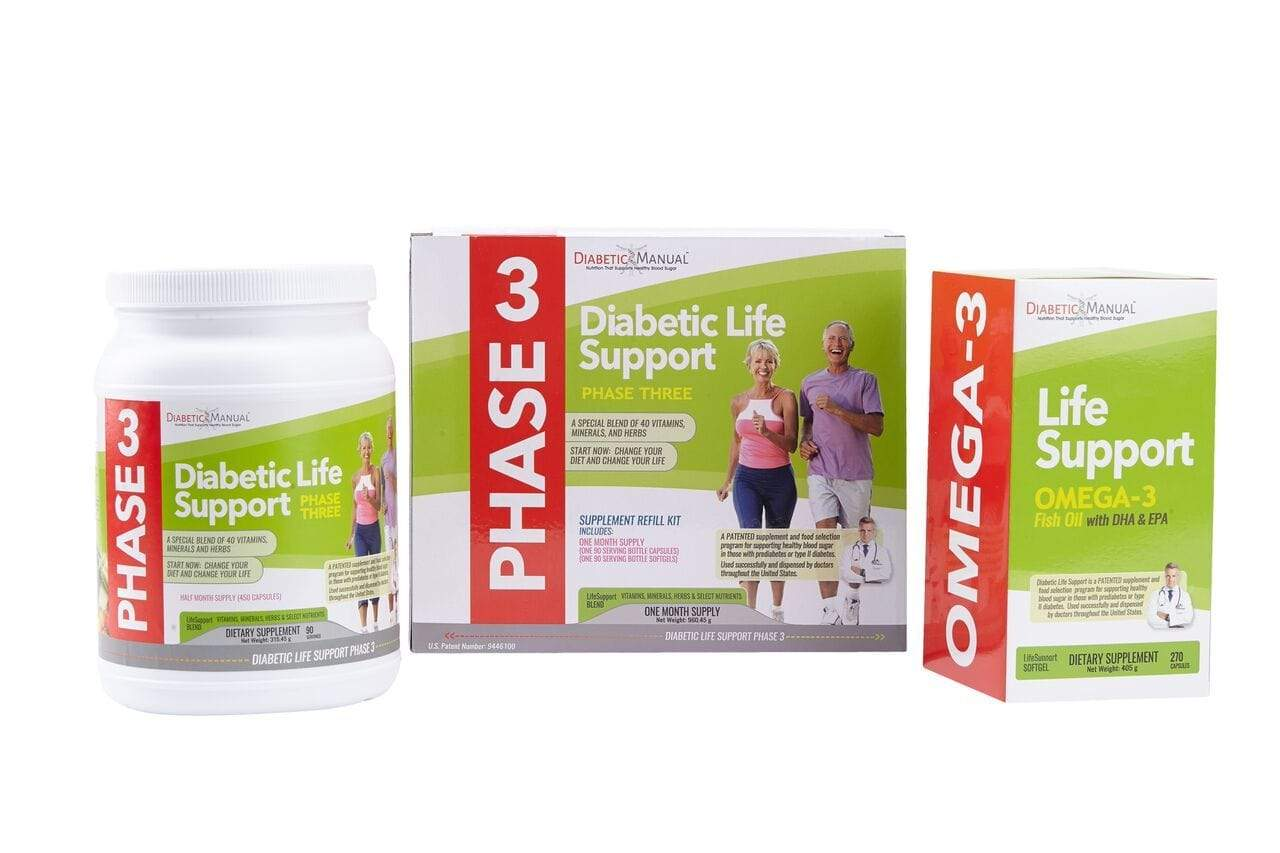 BodyManual Diabetic Life Support - PHASE 3 REFILL