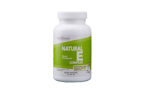 Natural E Complex - (100 Softgel Capsules)